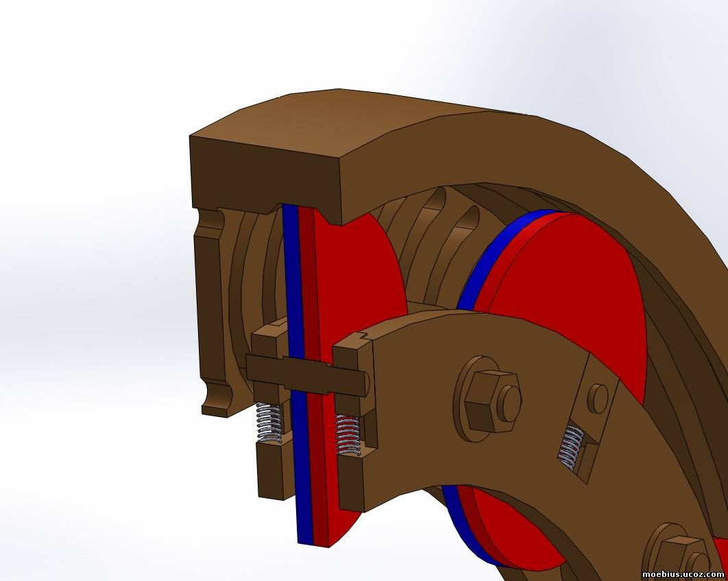 схема катушки мебиуса
